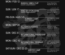 Kalendarz imprez w IKO Nakamura!