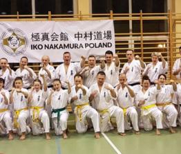 Seminarium Karate Kyokushin z shihan Włodzimierzem Weselskim 5 dan