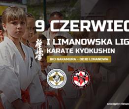 Już niebawem I edycja Limanowskiej Ligi Karate Kyokushin IKO Nakamura w Limanowej!