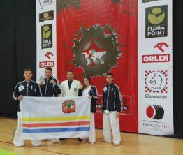 Srebrny medal limanowskiego zawodnika na Pucharze Europy Kyokushin Karate WKB w Warszawie