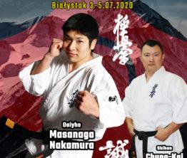 III Europejski Letni Obóz Karate Kyokushin IKO Nakamura w Białymstoku!